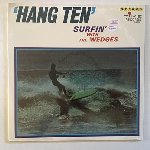Wedges, the  ‎– Hang Ten: For Surfers Only - SEALED - vinyl record LP