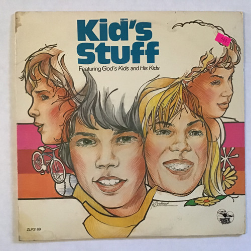 Kid's Stuff ‎– Featuring God's Kids And His Kids vinyl record LP