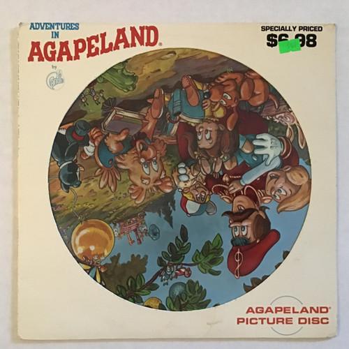 Candle (3) – Adventures In Agapeland - Picture Disc vinyl record LP