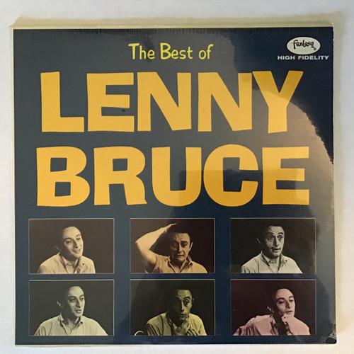 Lenny Bruce - the Best of Lenny Bruce - SEALED - vinyl record LP
