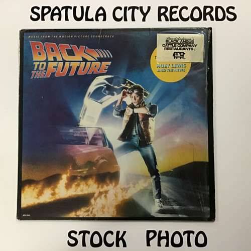 Back to the Future - Soundtrack - vinyl record LP
