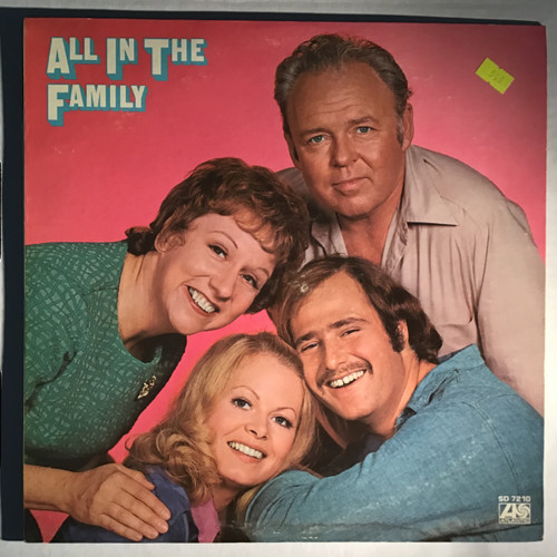All In The Family - soundtrack - vinyl record LP