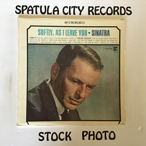 Frank Sinatra -Softly As I Leave You  - vinyl record LP