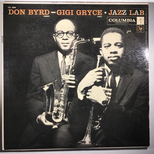 Don Byrd - Gigi Gryce – Jazz Lab - MONO - vinyl record LP