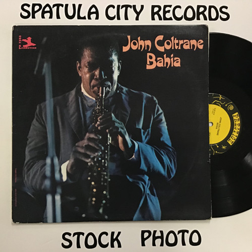 John Coltrane - Bahia - vinyl record LP