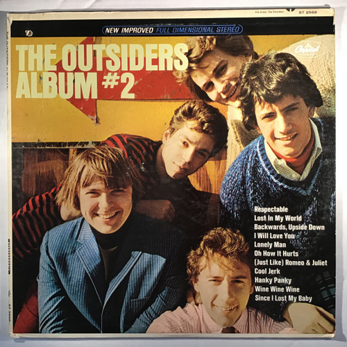 The Outsiders) – The Outsiders Album #2 - vinyl record LP