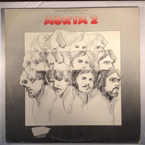 Aorta - Aorta II - PROMO - Vinyl Record LP
