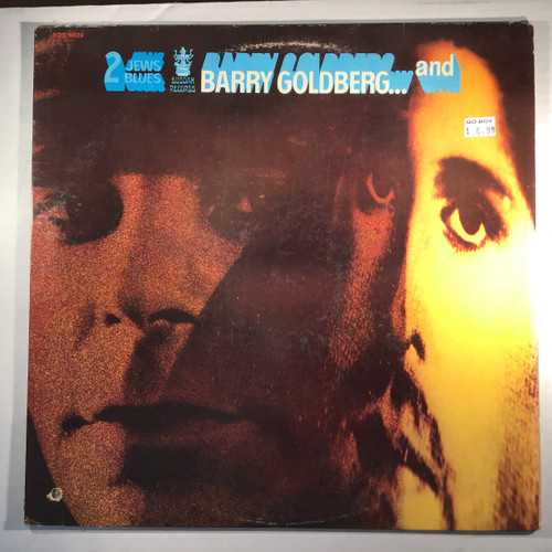Barry Goldberg - Two Jews Blues - vinyl record LP