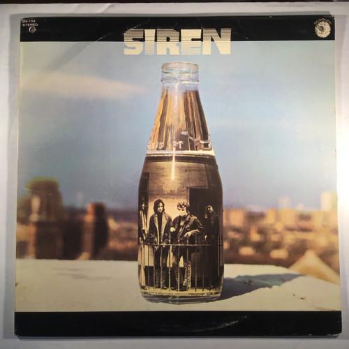 Siren - siren vinyl record LP