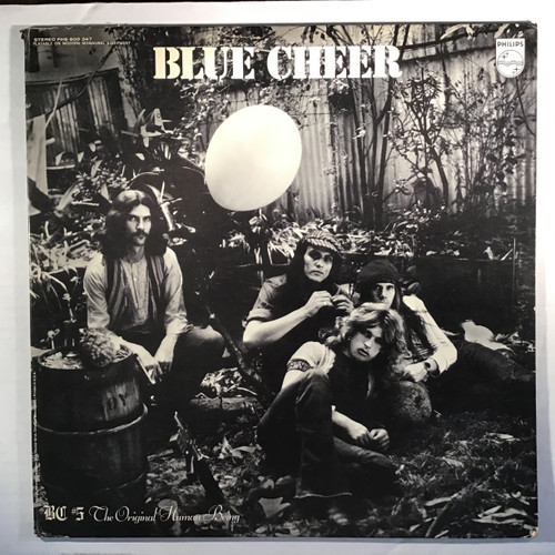 Blue Cheer ‎– BC #5 The Original Human Being  - vinyl record LP