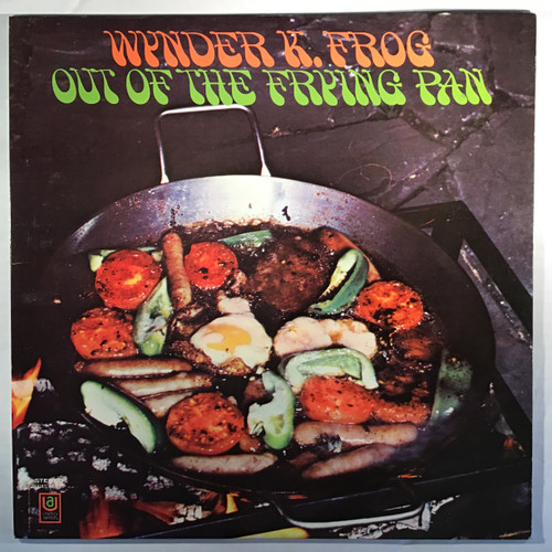 Wynder K. Frog ‎– Out Of The Frying Pan  vinyl record LP