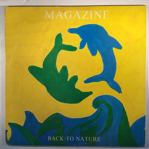 Magazine - Back to Nature - Bootleg live - vinyl record LP