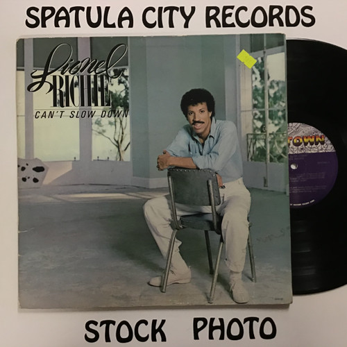 Lionel Richie - Can't Slow Down - vinyl record LP