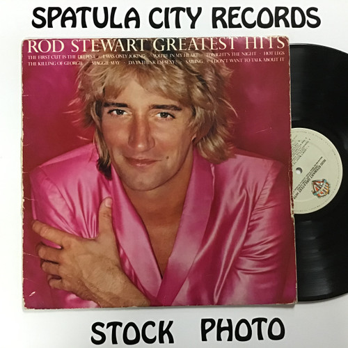 Rod Stewart - Greatest Hits vinyl record LP