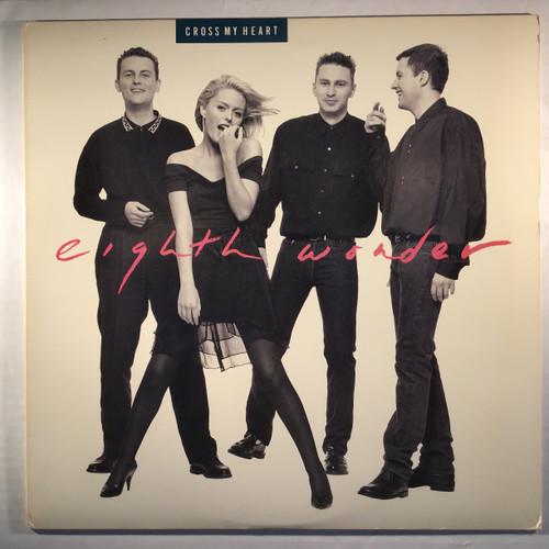 "Eighth Wonder – Cross My Heart 12"" single vinyl record EP"