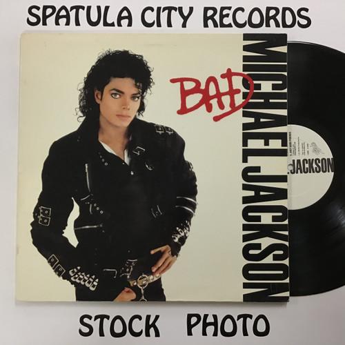 Michael Jackson - Bad - vinyl record LP