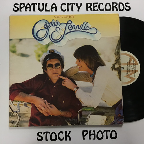 Captain and Tennille - Song of Joy - vinyl record LP