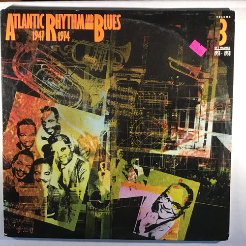 Atlantic Rhythm and Blues  1947-1974 Volume 3 1955-1958 double vinyl record LP