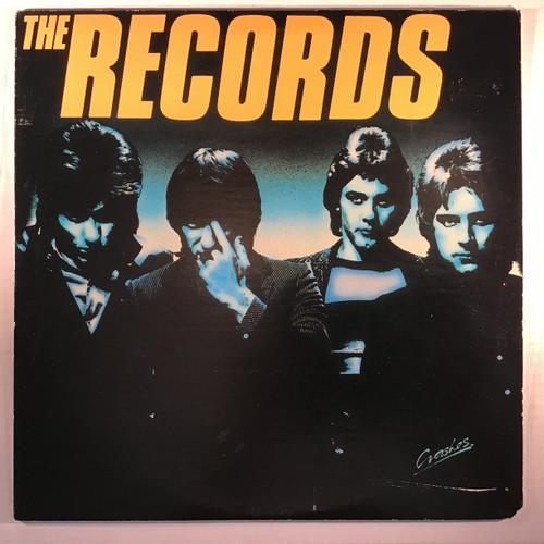 The Records - Crashes - vinyl record LP