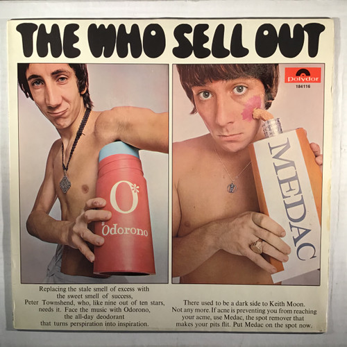 Who, the - The Who Sell Out - GERMAN IMPORT - vinyl record LP