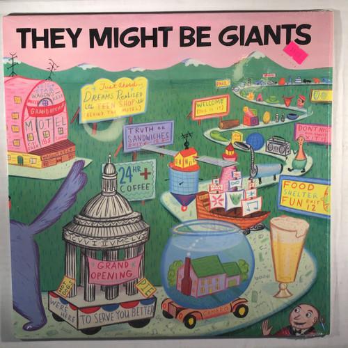 They Might Be Giants - They Might Be Giants - vinyl record LP