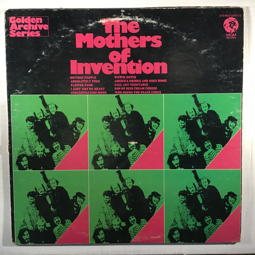 The Mothers Of Invention – The Mothers Of Invention - vinyl record LP