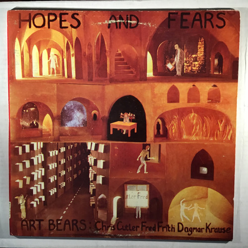 Art Bears ‎– Hopes And Fears - vinyl record LP