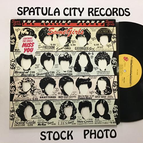 Rolling Stones, the - Some Girls - 1st PROMO  vinyl record LP