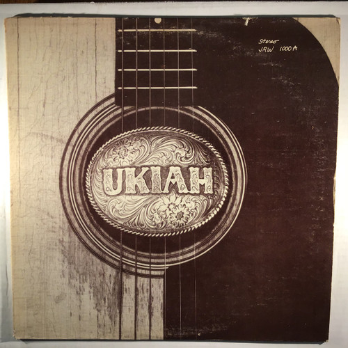 Ukiah  - Ukiah - vinyl record LP