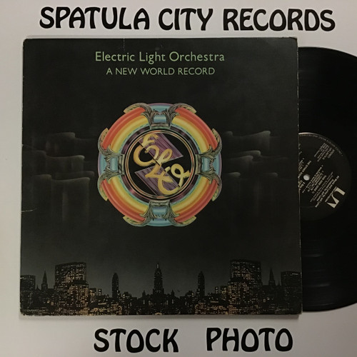 Electric Light Orchestra - A New World Record - vinyl record LP