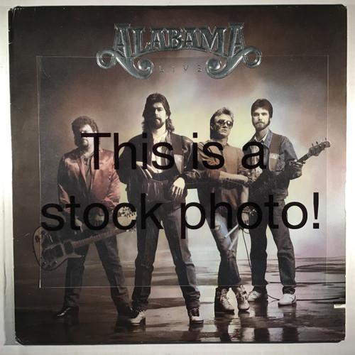 Alabama - Live - vinyl record LP