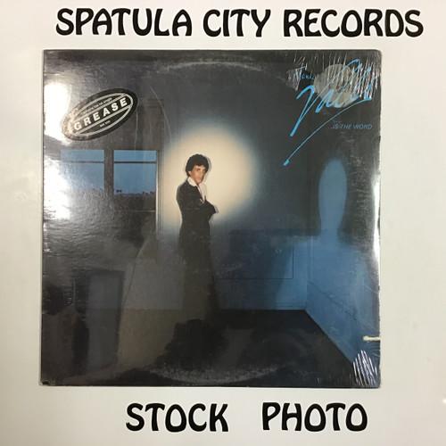 Frankie Valli - is the word - vinyl record LP