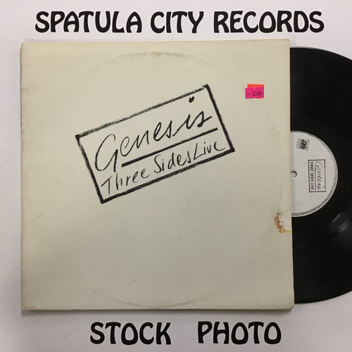 Genesis - Three Sides Live - double vinyl record LP