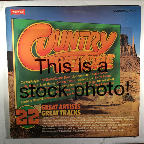Country Welcome - Compilation - vinyl record LP