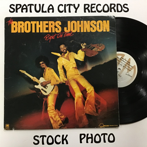 Brothers Johnson, the - Right on Time - vinyl record LP