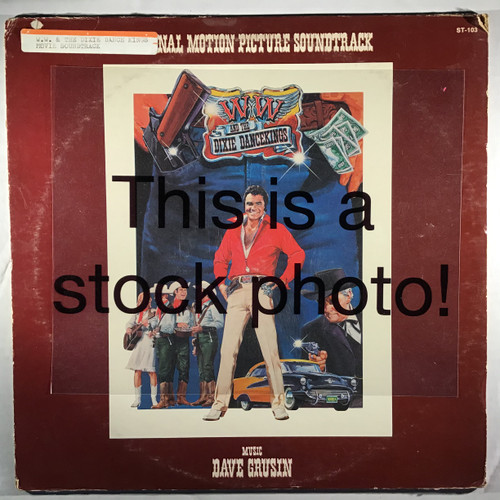 Dave Grusin – W.W. And The Dixie Dancekings - Soundtrack - PROMO - vinyl record LP