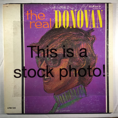 Donovan - The Real Donovan - vinyl record LP