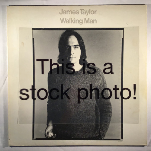 James Taylor - Walking Man - vinyl record LP