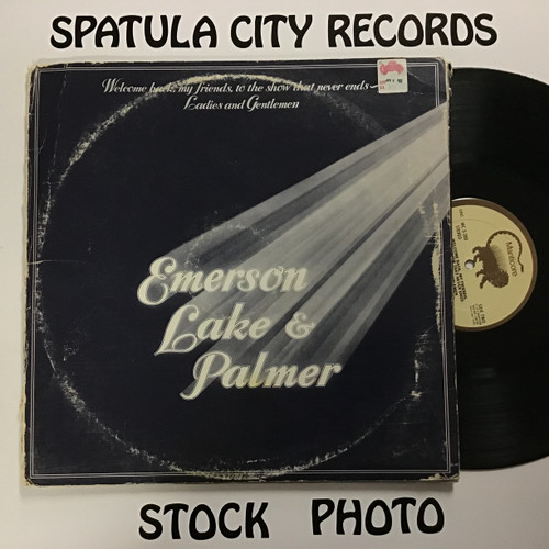 Emerson, Lake & Palmer – Welcome Back My Friends To The Show That Never Ends ~ Ladies And Gentlemen -  (club copy) TRIPLE vinyl record LP