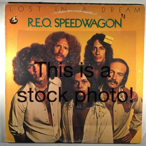 REO Speedwagon - Lost in a Dream - vinyl record LP