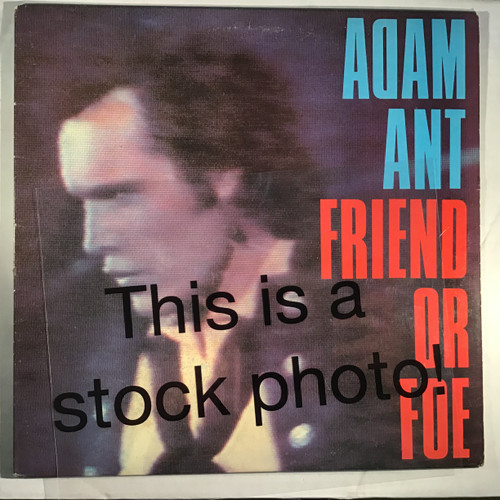 Adam Ant - Friend or Foe - vinyl record LP