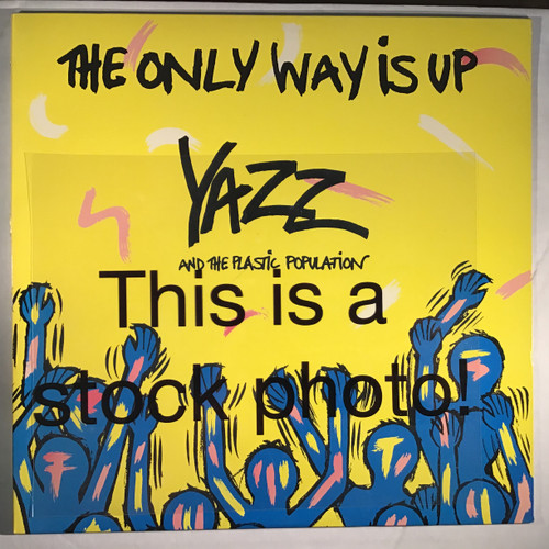 """Yazz And The Plastic Population – The Only Way Is Up  - 12"""" vinyl record EP / LP"""