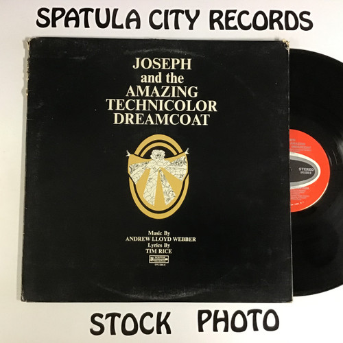 Tim Rice And Andrew Lloyd Webber* ‎– Joseph And The Amazing Technicolor Dreamcoat - vinyl record LP