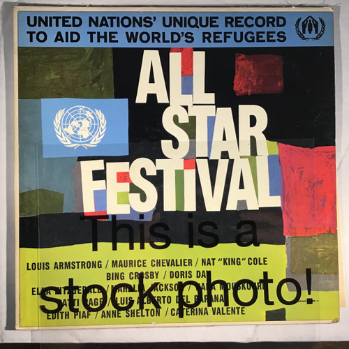 All Star Festival - Compilation - vinyl record LP