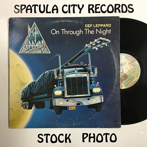 Def Leppard - On through the night - vinyl record LP