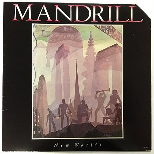 Mandrill - New Worlds - vinyl record LP