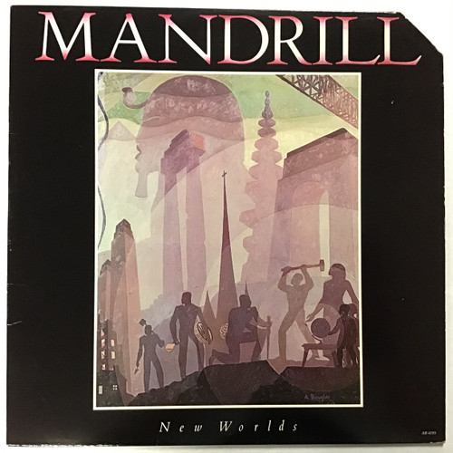 Mandrill - New Worlds - vinyl record LP