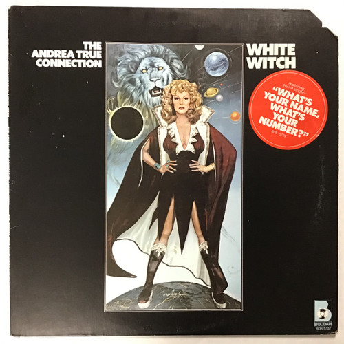 Andrea True Connection ‎– White Witch - vinyl record LP