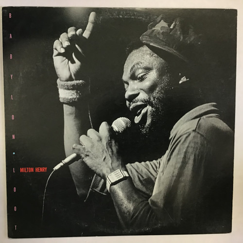 Milton Henry - Babylon Loot - IMPORT - vinyl record LP