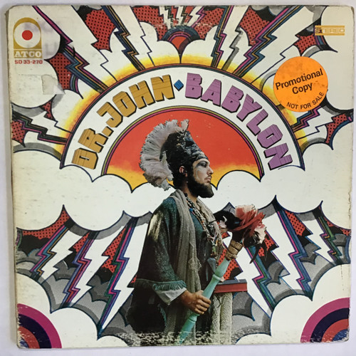 Dr. John - Babylon - WLP PROMO - vinyl record LP